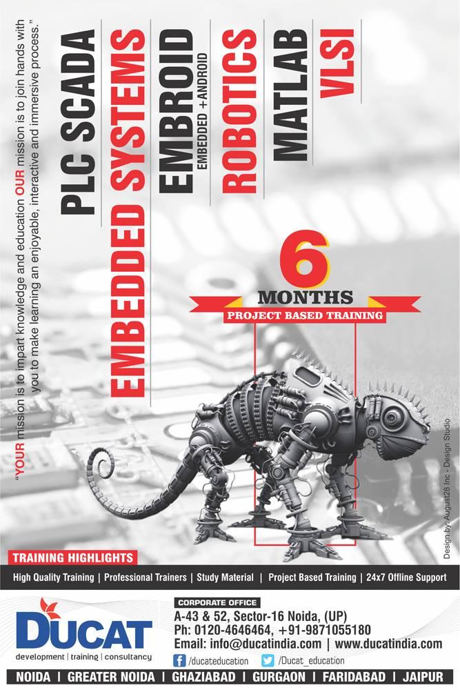 Ducat Training Institute Poster Design 6