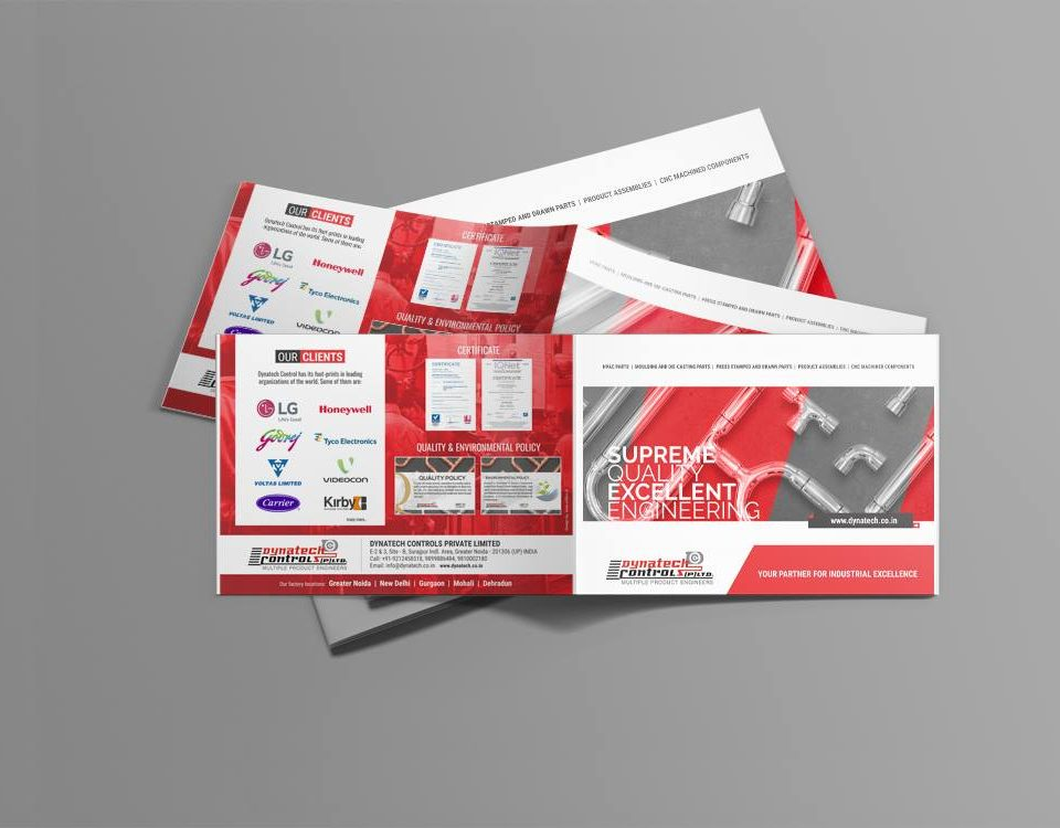 Dynatech Controls Brochure Desing