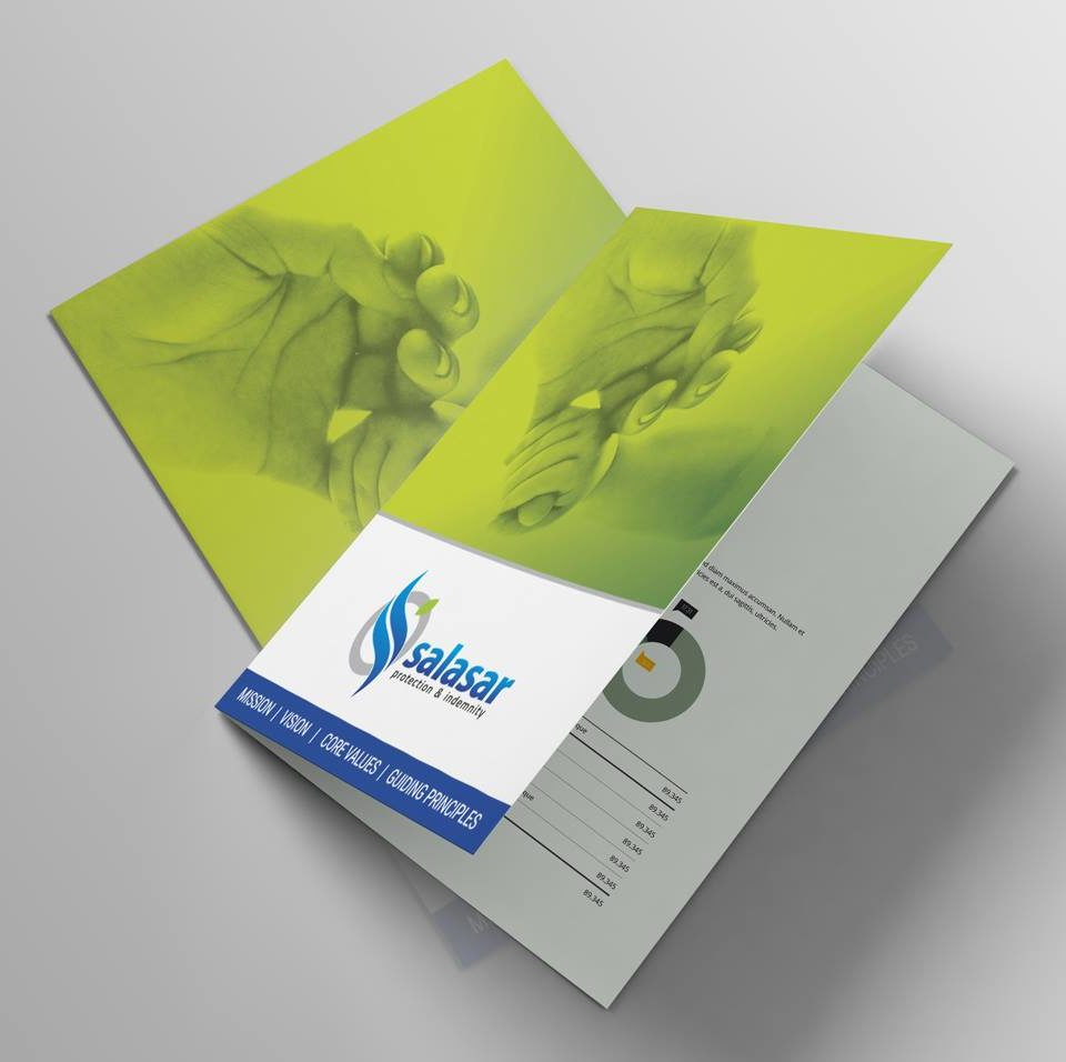 Salasar Services Brochure Design