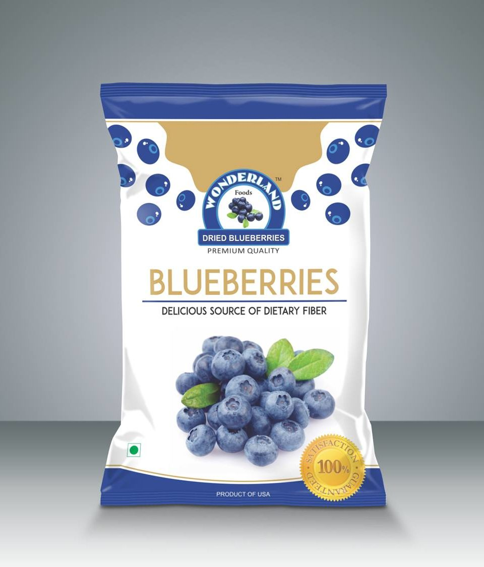 Wonderland Dry-Fruits Package Design