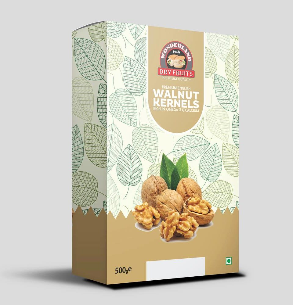 Wonderland Dry-Fruits Package Design